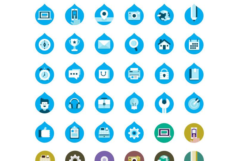 Drupalize.me Icons