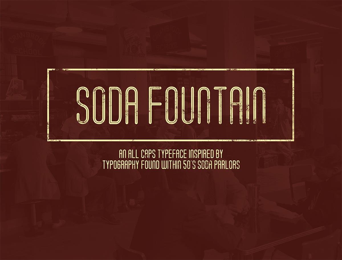 fuente de soda