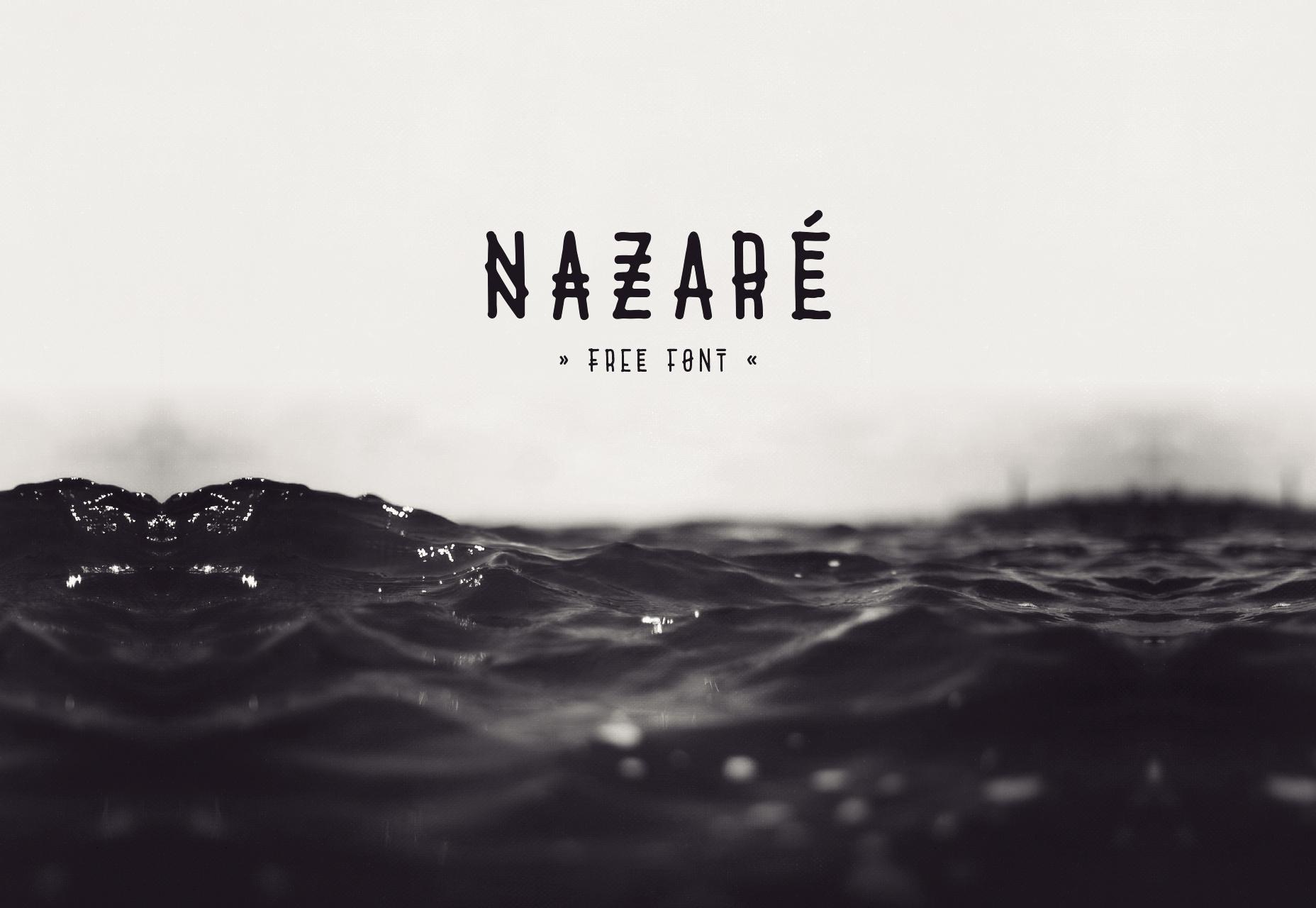 Nazare: Tipografía inspirada en la ciudad de Portugal