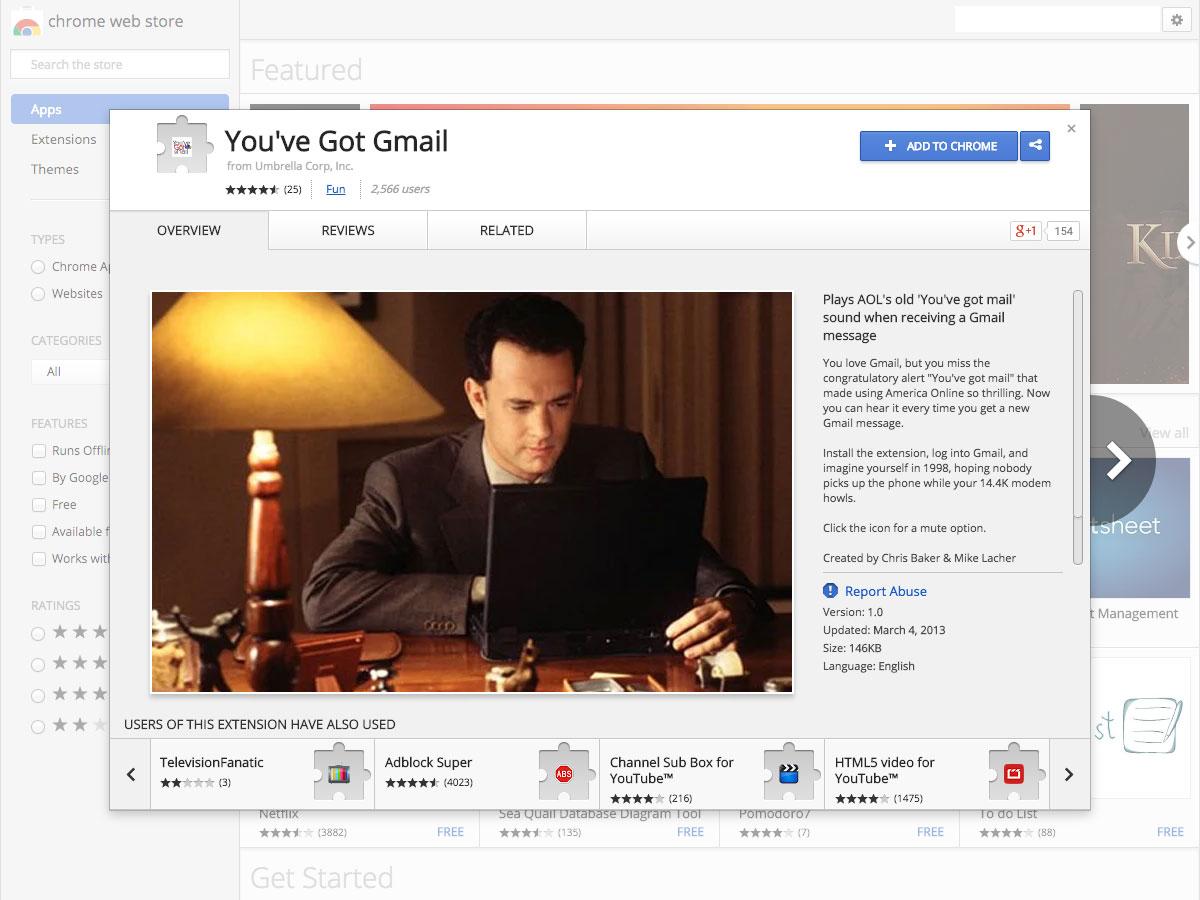 tienes Gmail