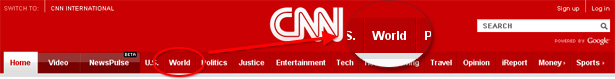 CNN.com beveled edges
