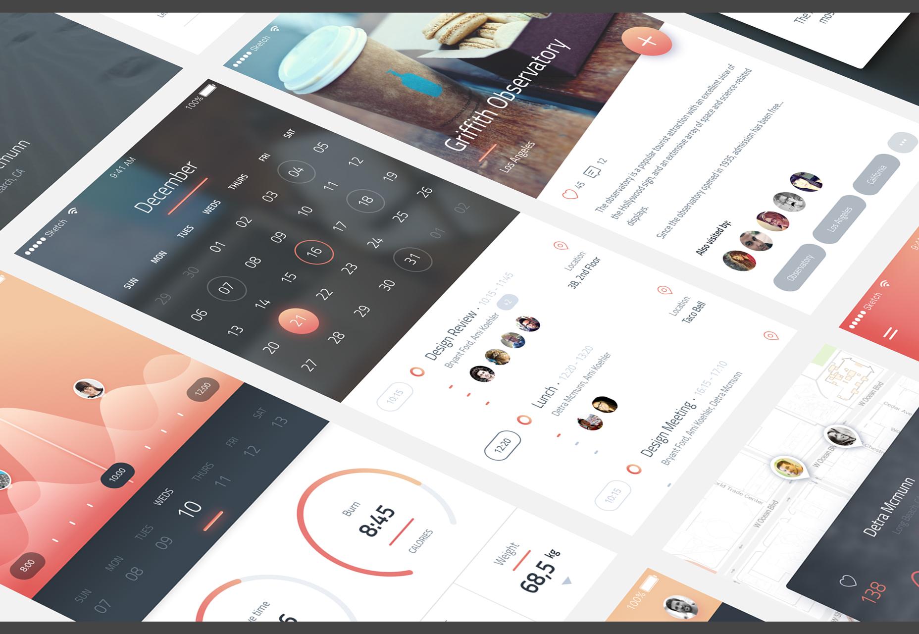 Phoenix: iPhone 6 UI Kit
