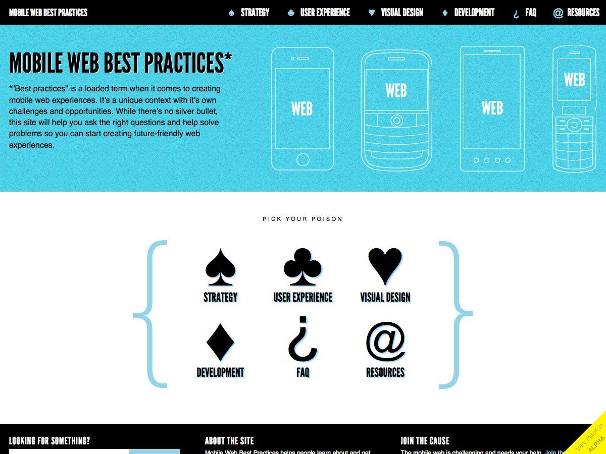 best practices voor mobiel internet