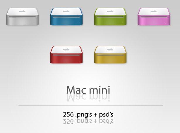 Mac Mini Dock Icons