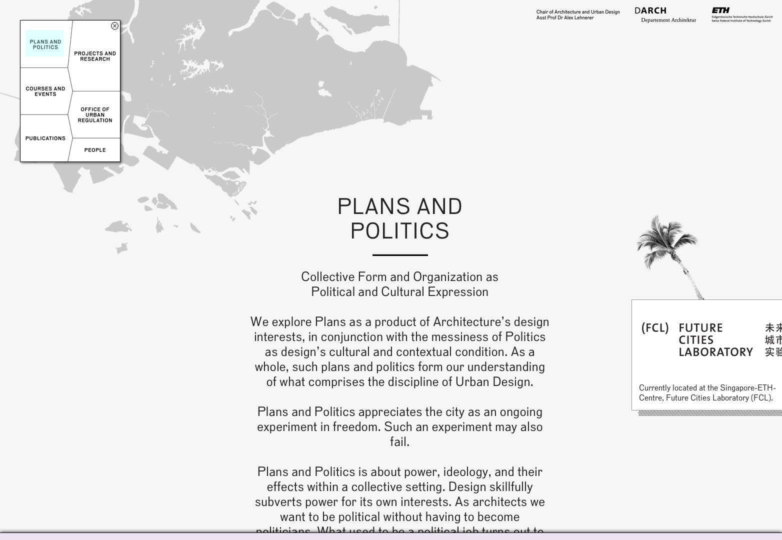 Planes y política