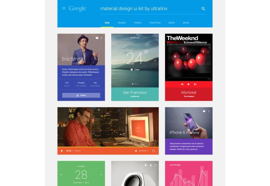 Material UI Kit de diseño