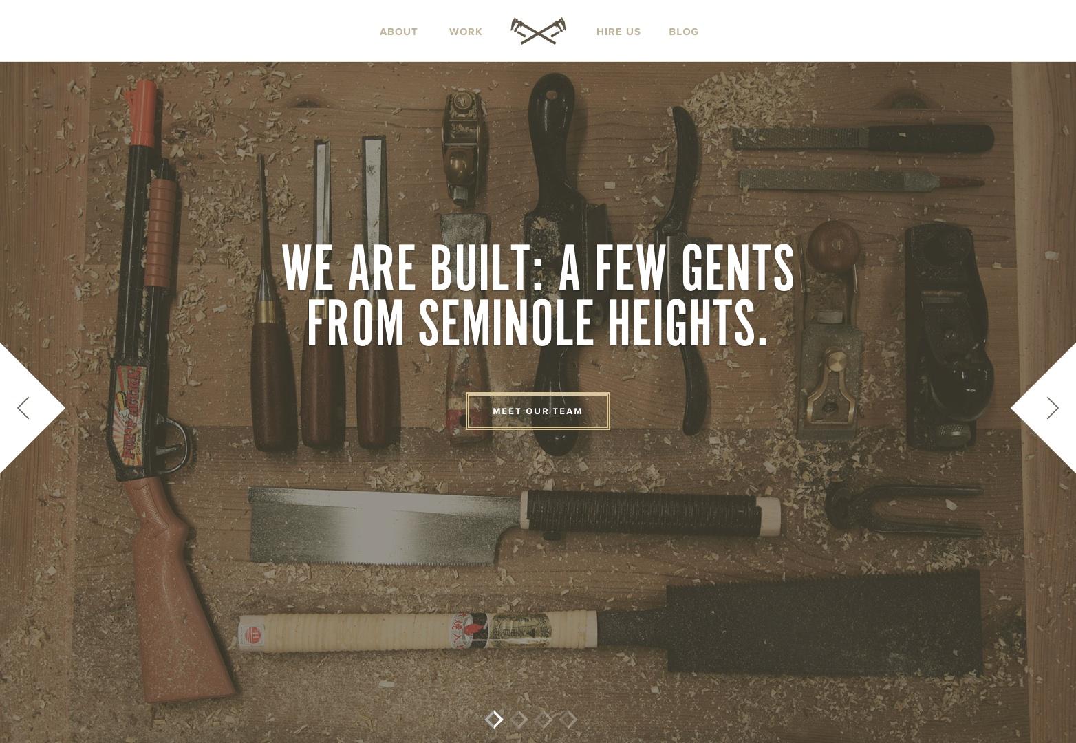 Built | Nábytek a příslušenství obchod v Seminole Heights, FL.