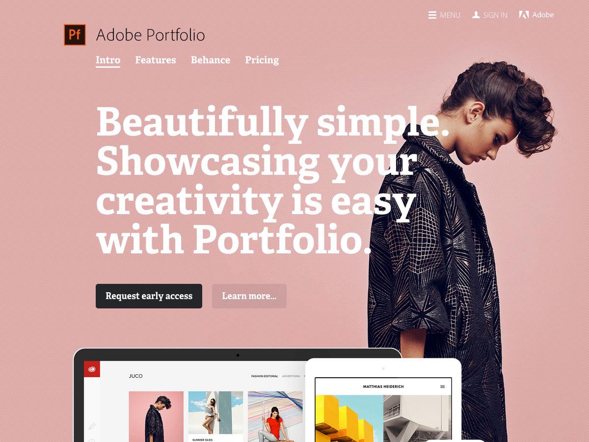 Portafolio de Adobe