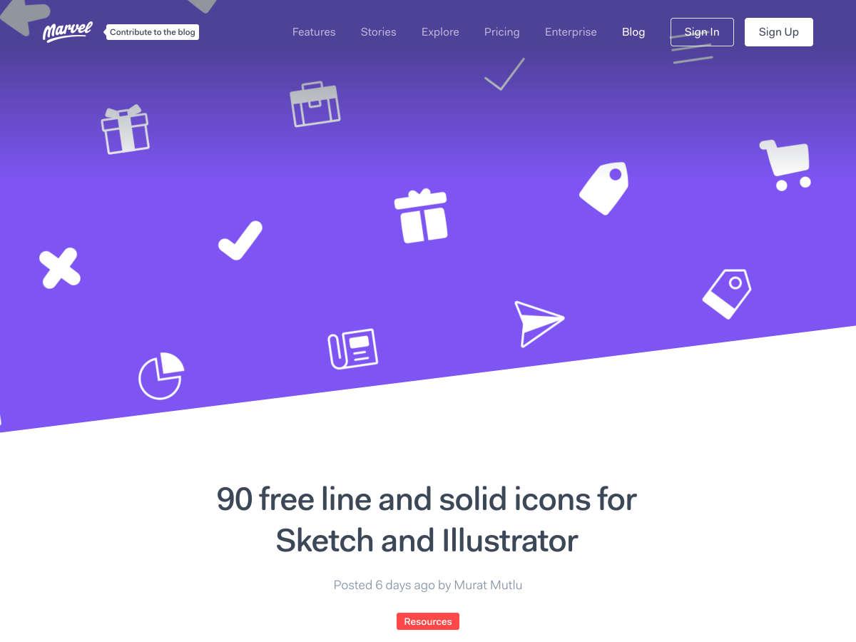 Línea libre 90 y íconos sólidos