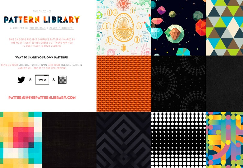 The amazing pattern library