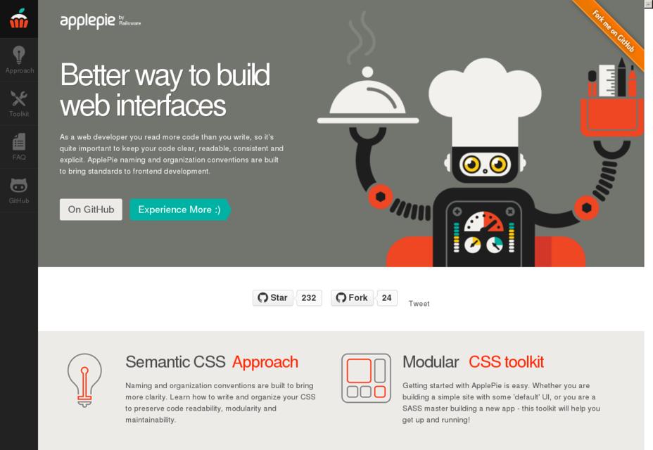 ApplePie: una mejor forma de construir interfaces web