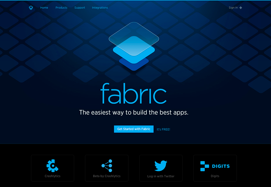 Fabric Mobile Development Platform