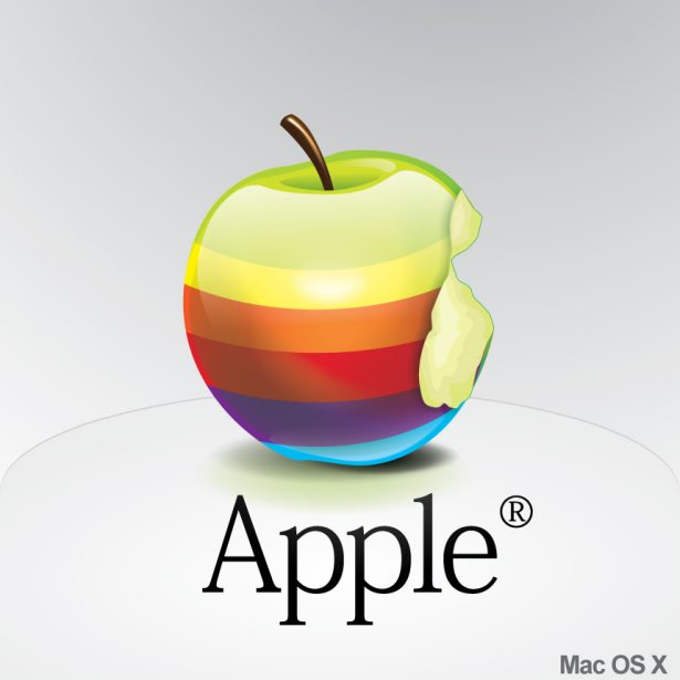 Icono de Apple Rainbow