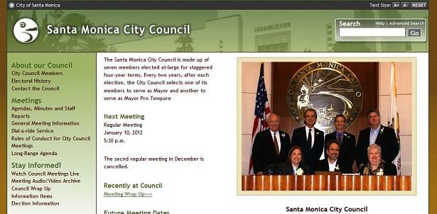 Santa Monica City Council
