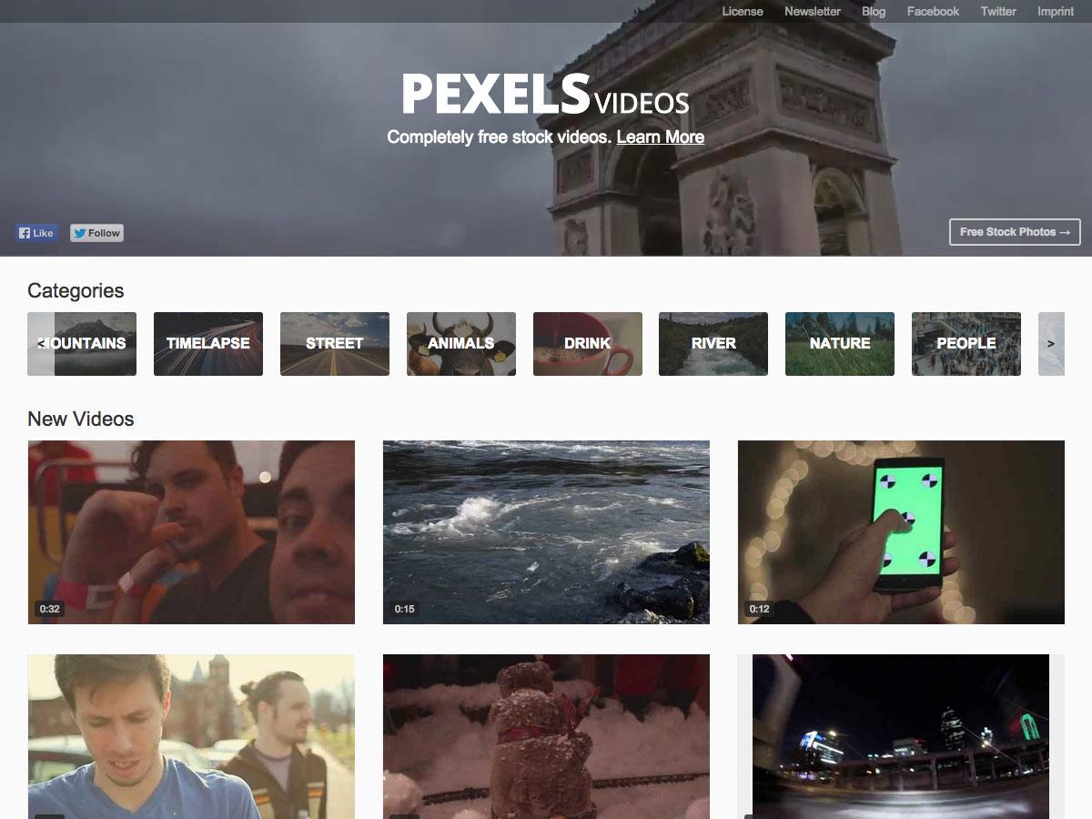 videos de pexels
