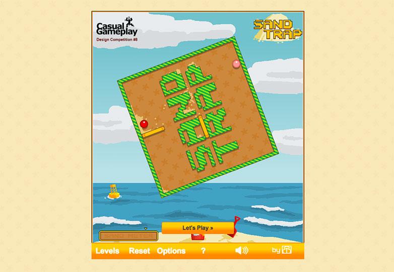 1.-trampa de arena
