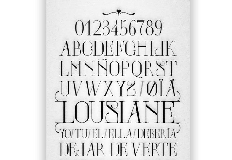 Louisiane Font
