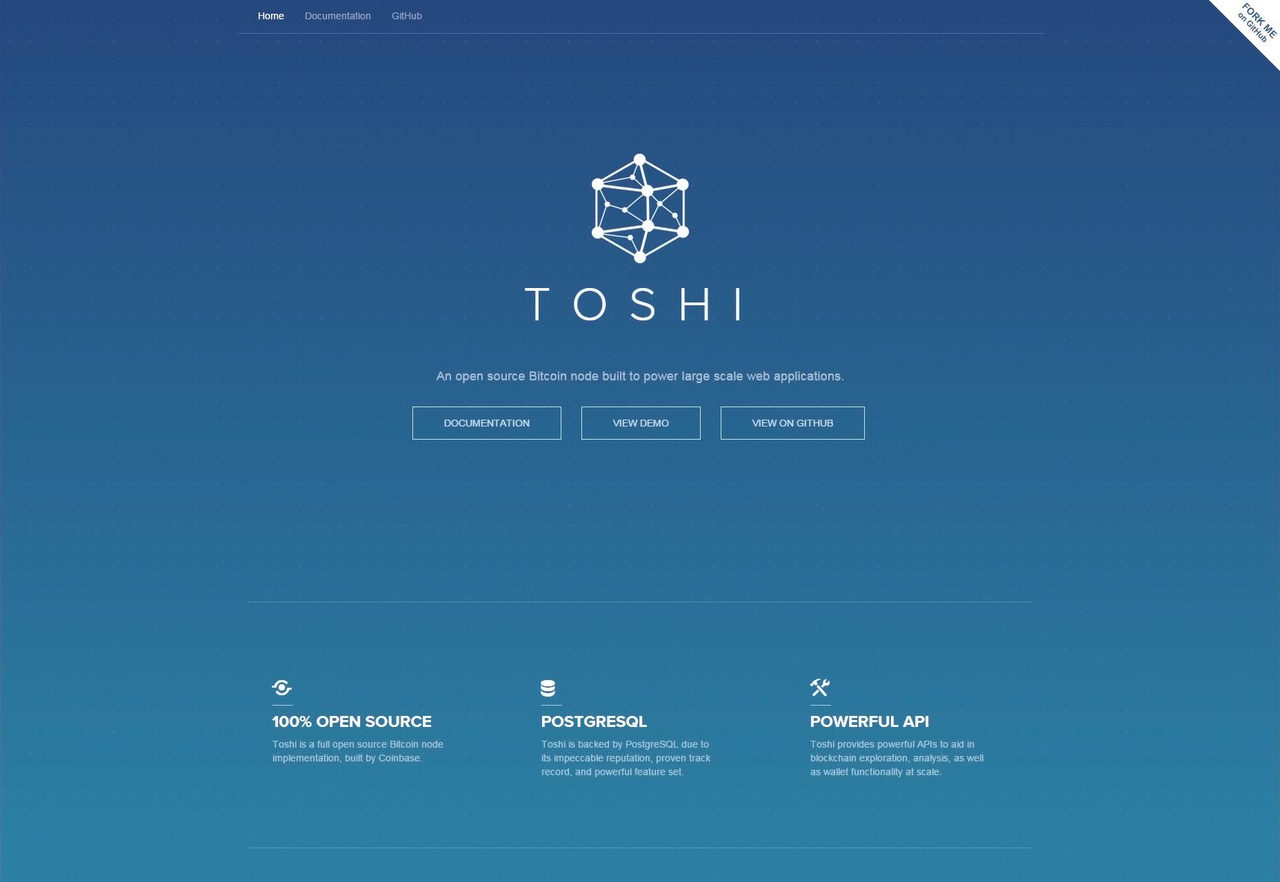 Toshi: Nodo de Bitcoin de código abierto