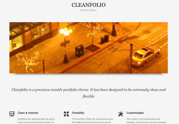Cleanfolio