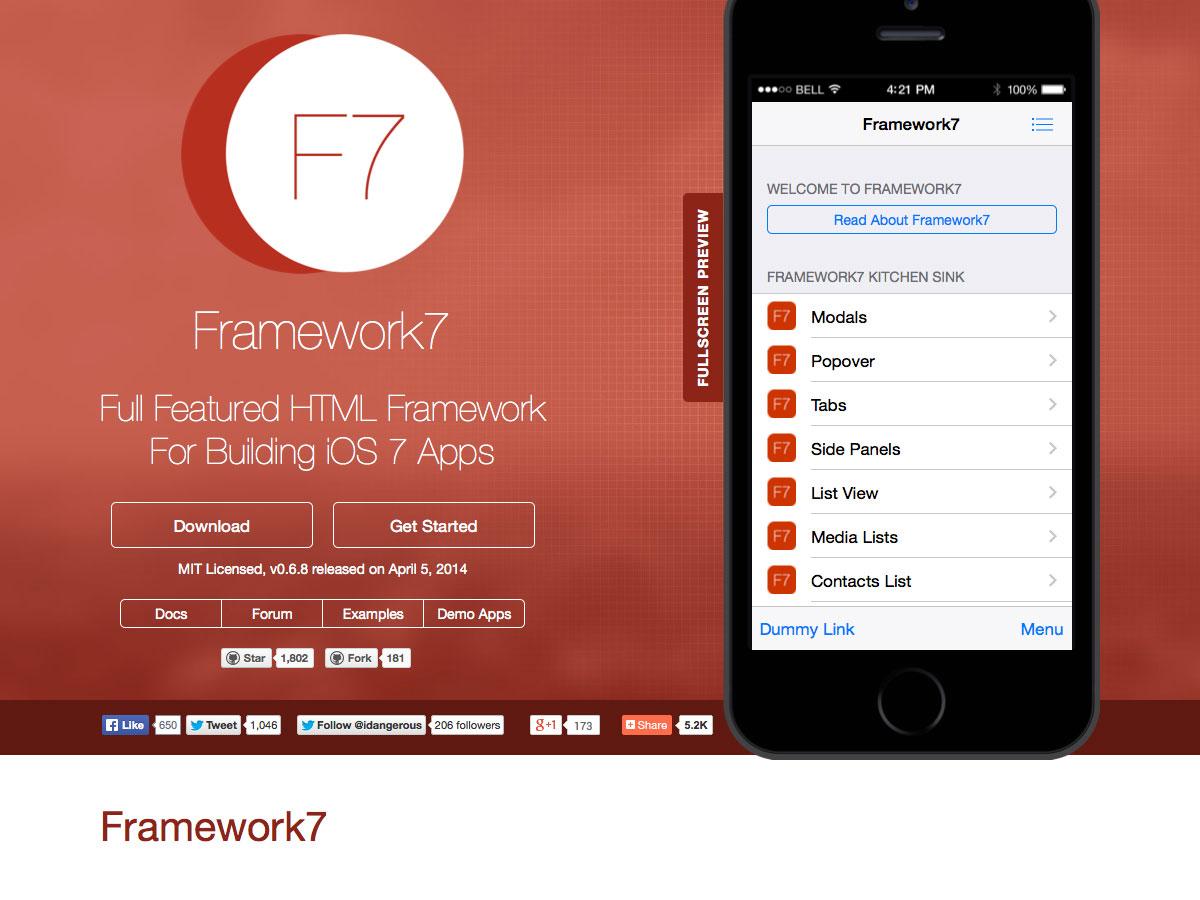 framework7