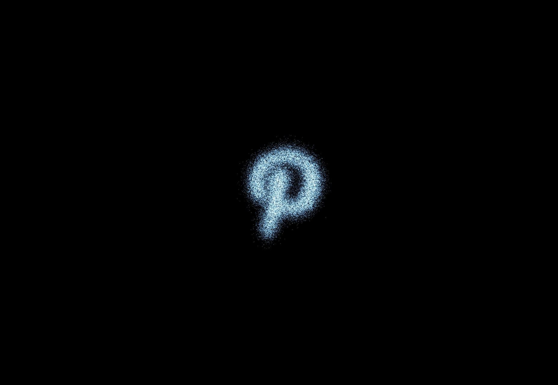 Grafische bibliotheek-gekenmerkte Pictogrammen Deeltjesgenerator