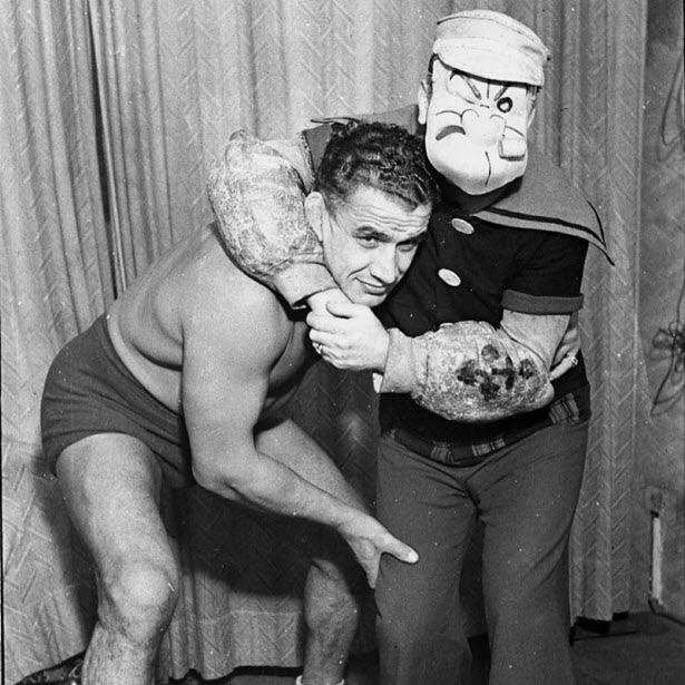 Ray Steele and Popeye