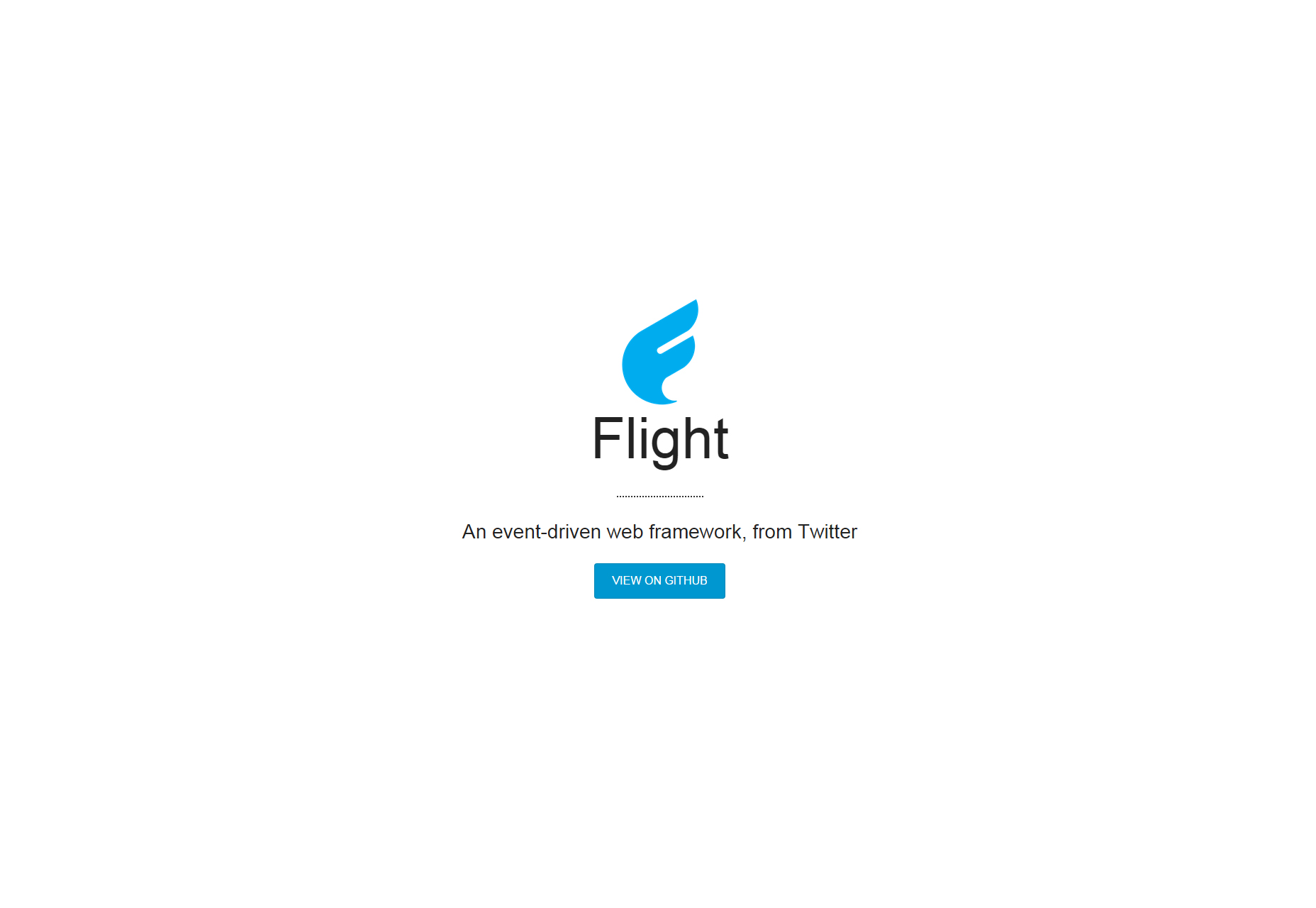 Flight: Event-driven JavaScript Framework