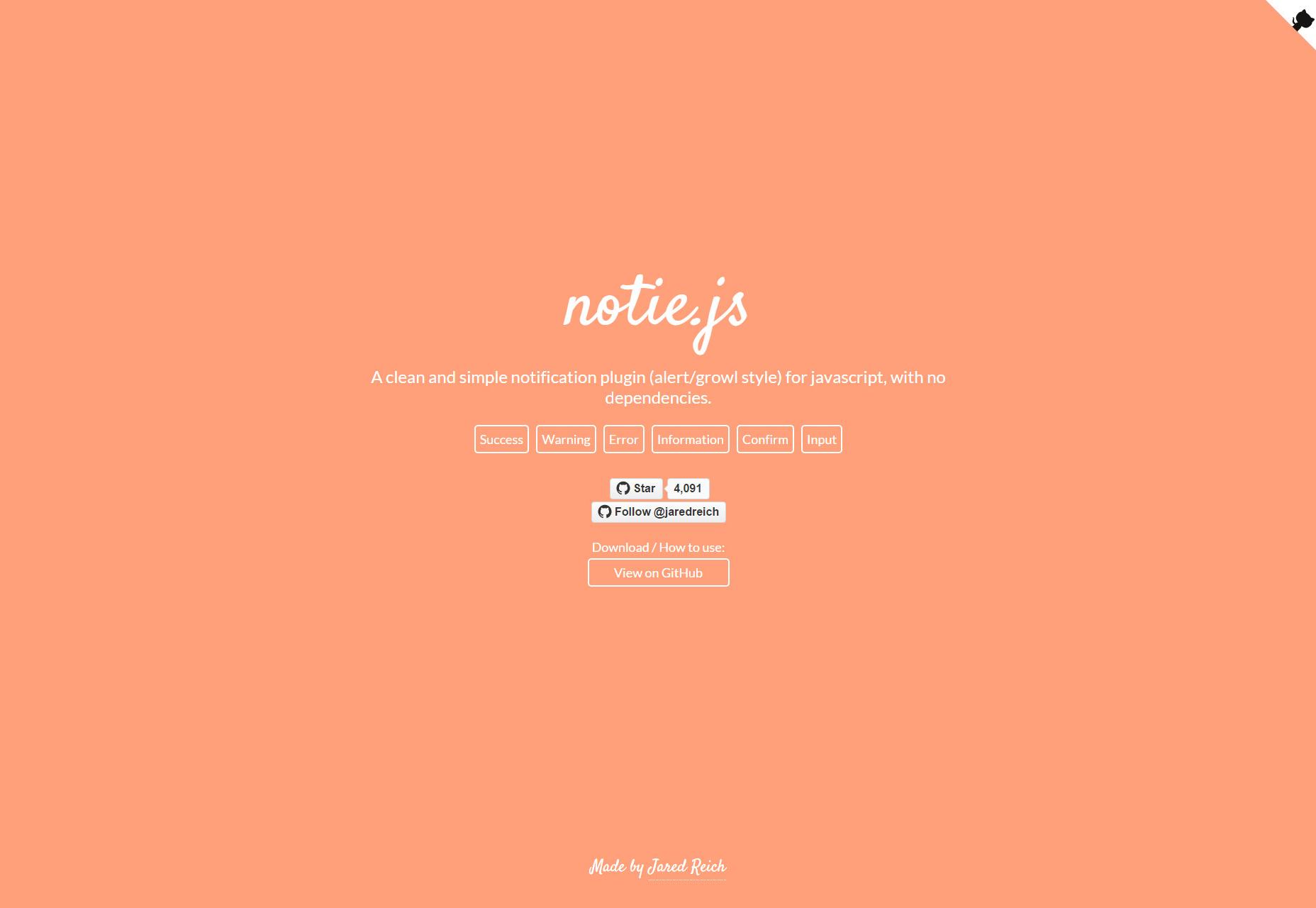 Notie.js: Complemento de notificación simple sin dependencias