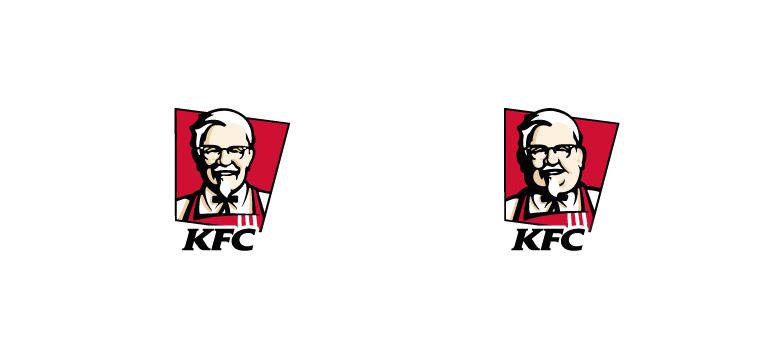 Logotipo gordo de KFC