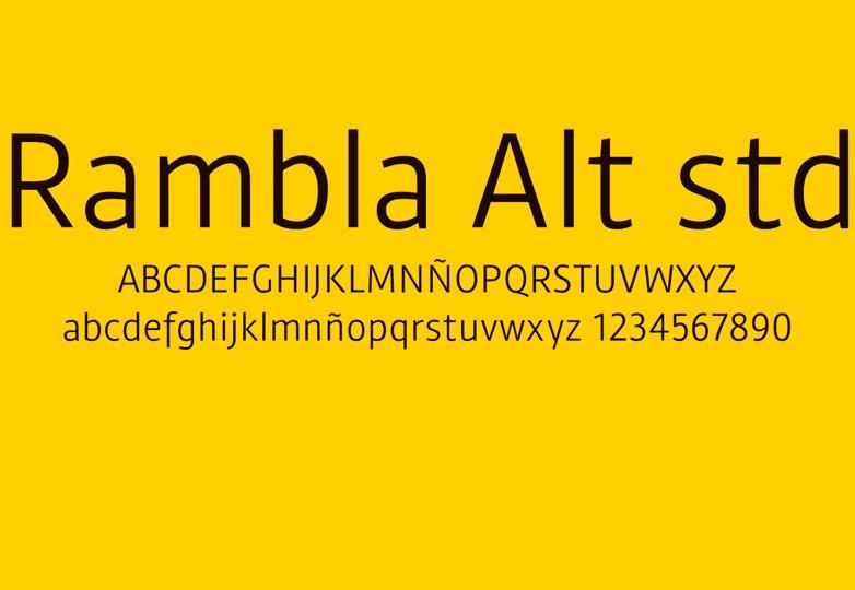 Rambla Alt font