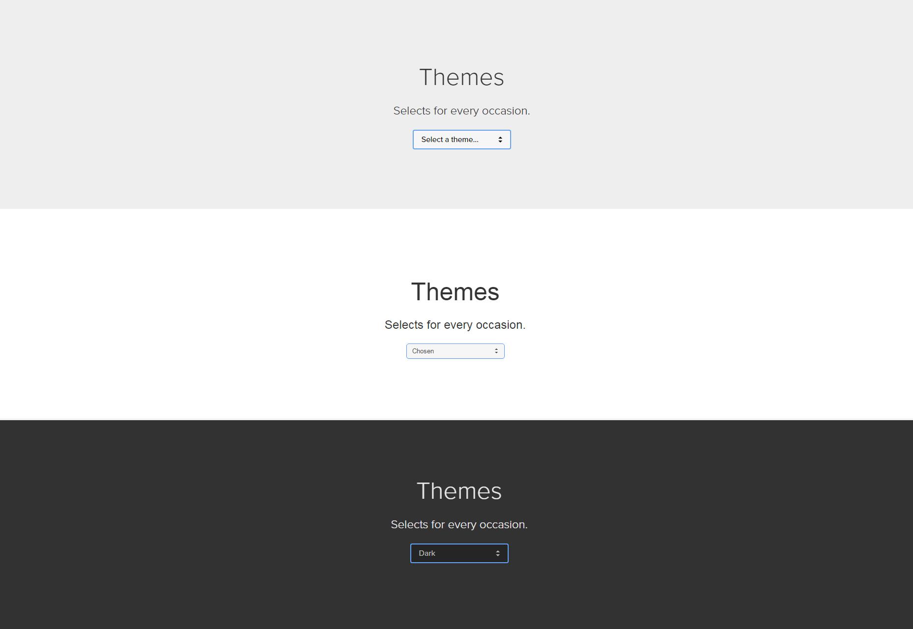 Select.js: Elementos seleccionables Styleable