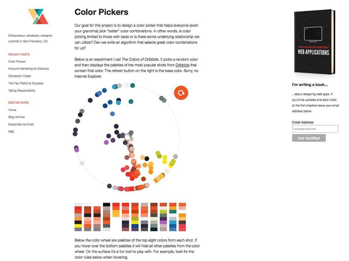 Selector de color
