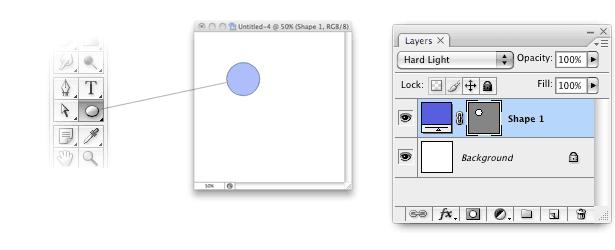 paso 1 en la creación de un patrón