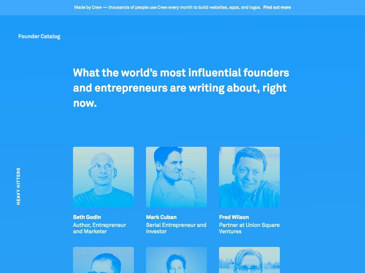 catálogo fundador