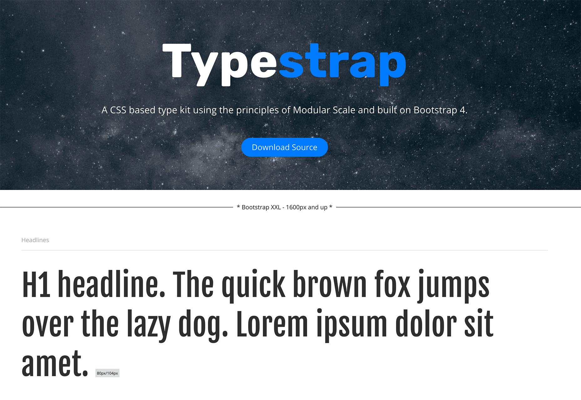 typestrap