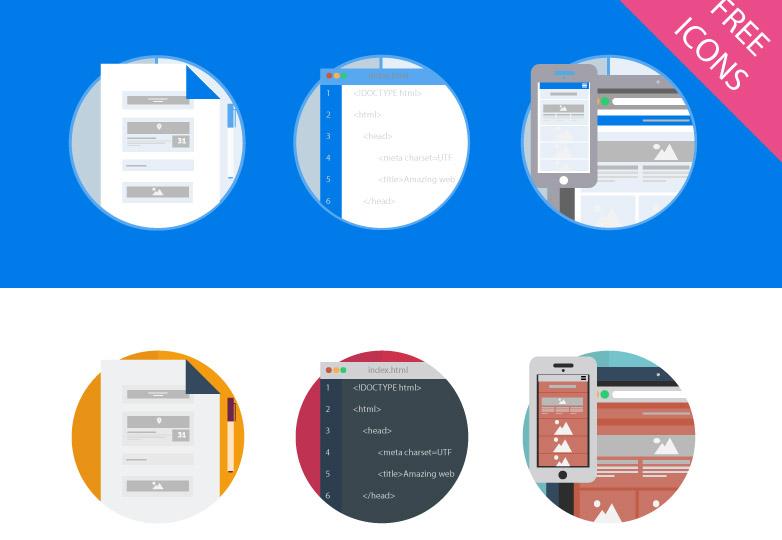 Web design Icons
