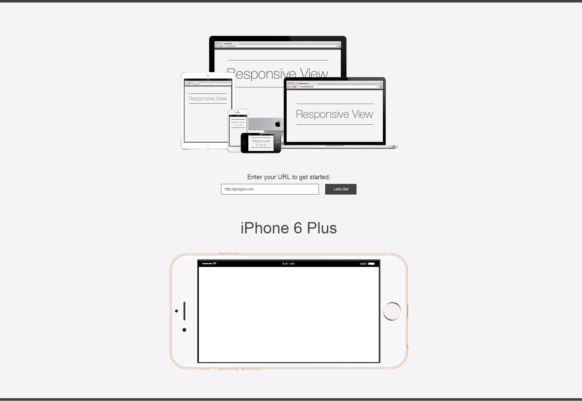 Odpovědné zobrazení: Nástroj pro zobrazování webových stránek na více zařízeních