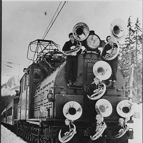 Train band