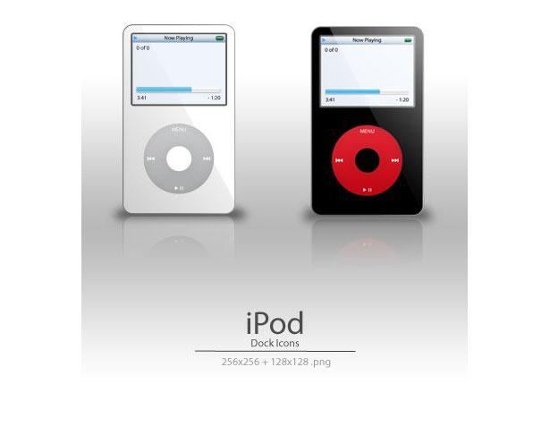 iPod Dock Icons