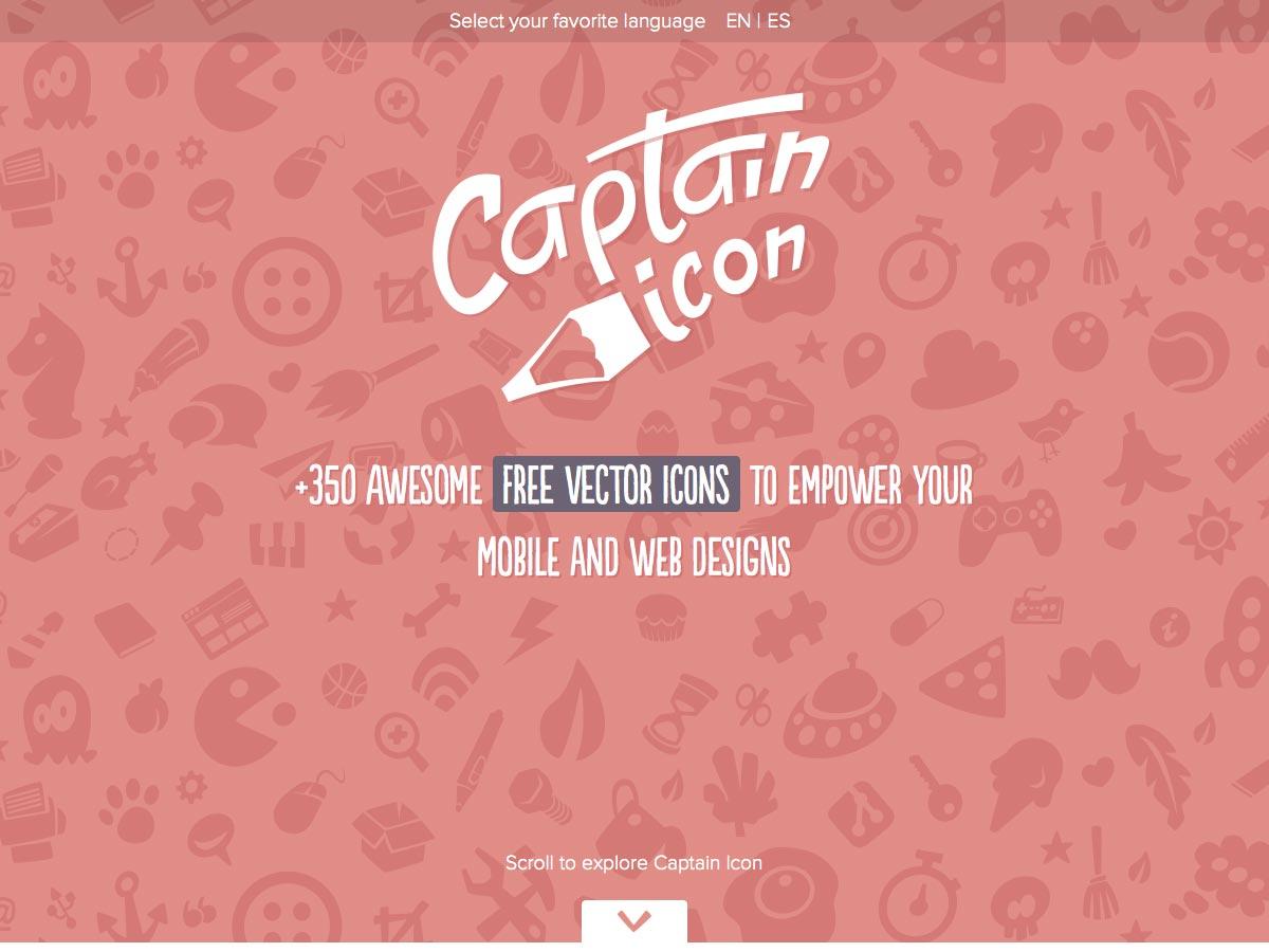 icono de capitán