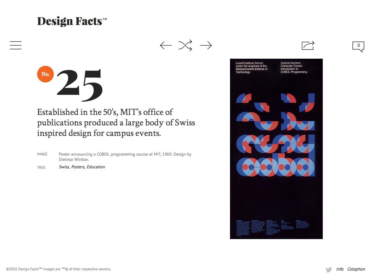 ontwerp feiten