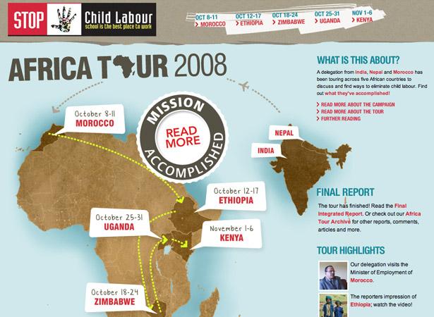 Detener el trabajo infantil