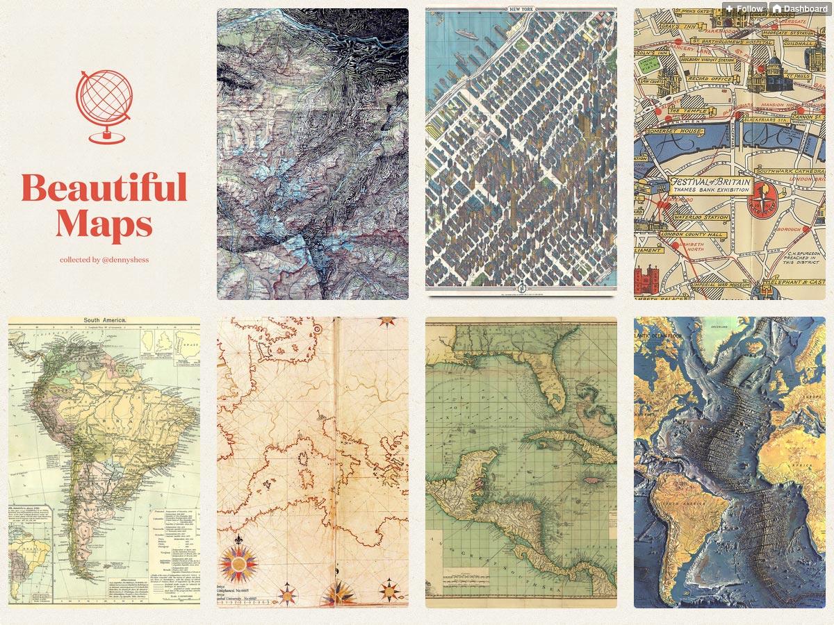 hermosos mapas
