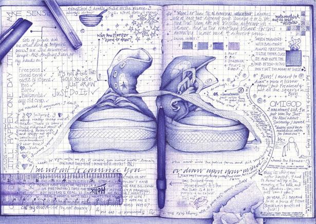 Mantenga un cuaderno de inspiración