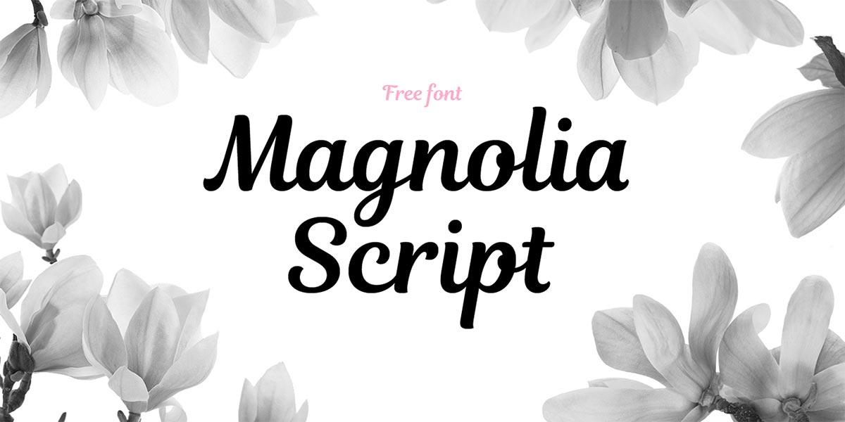 magnolia-schrift