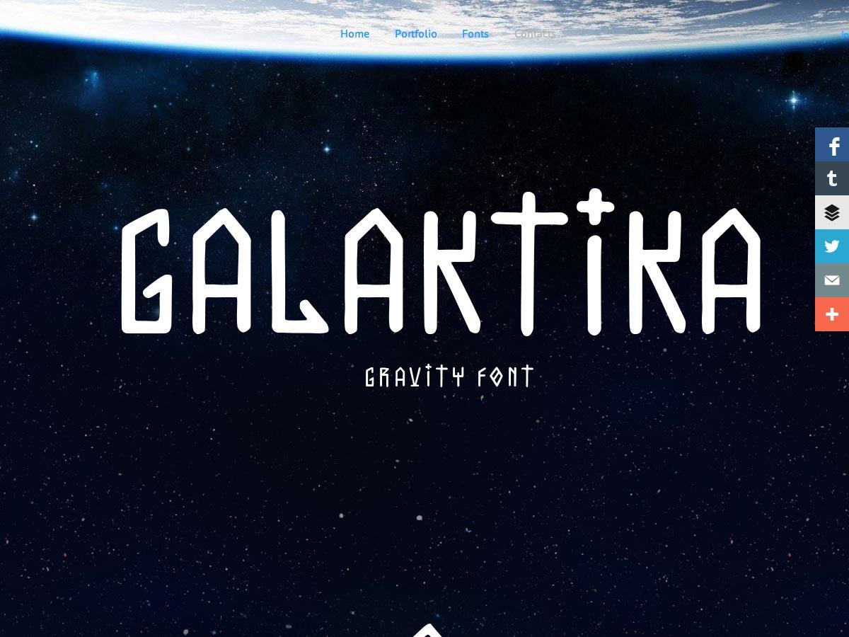 galaktika gravitace