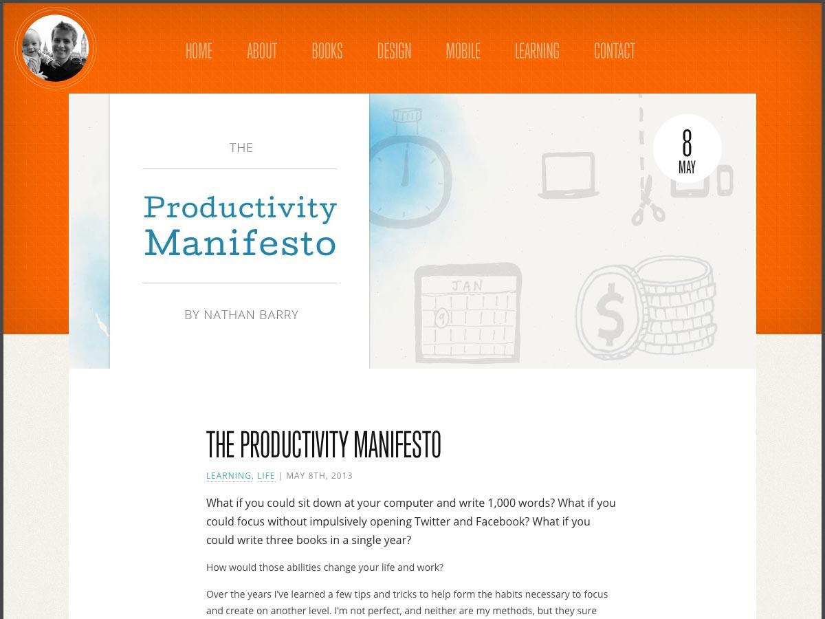 manifiesto de productividad