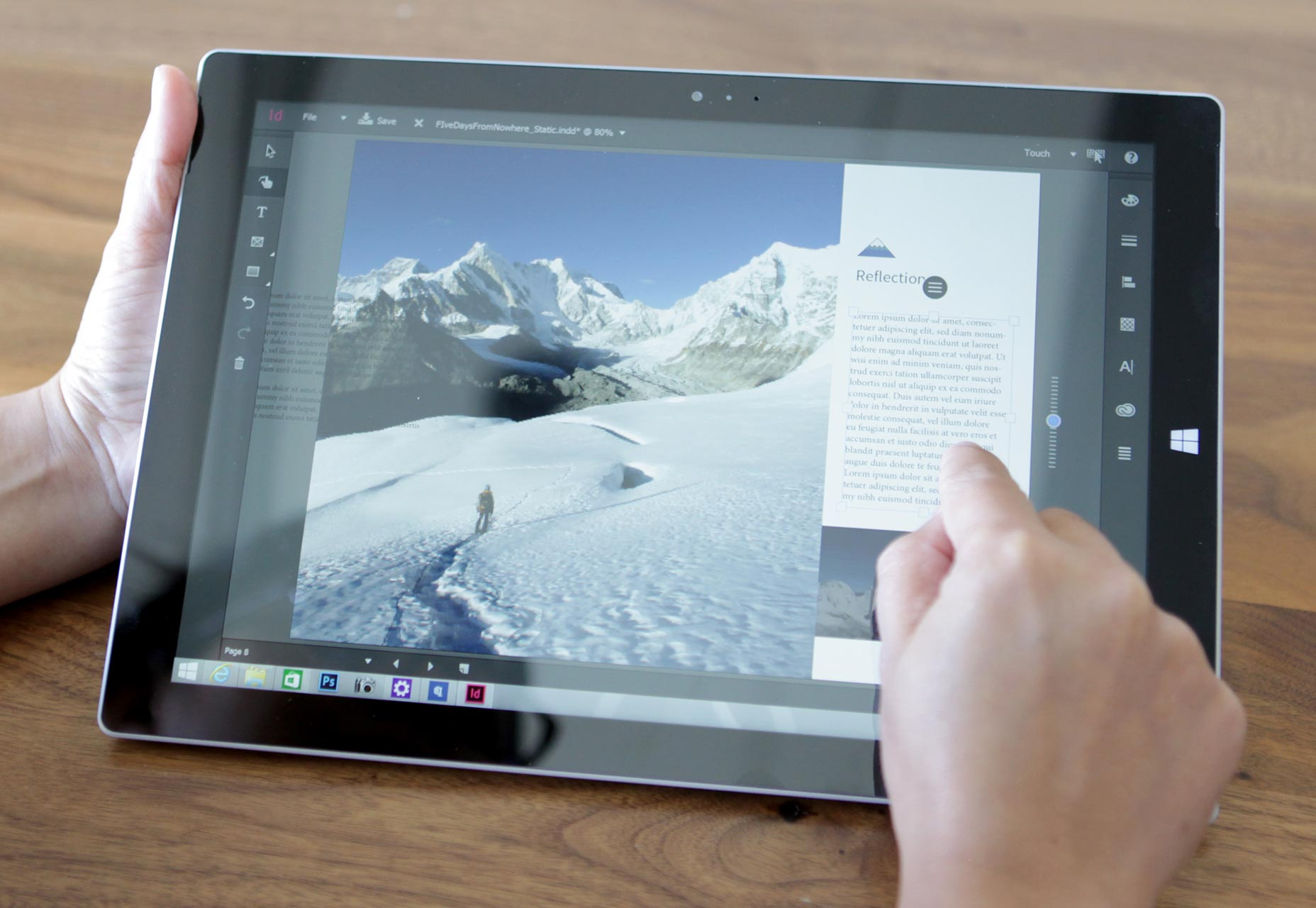 InDesign-Touch-Workspace