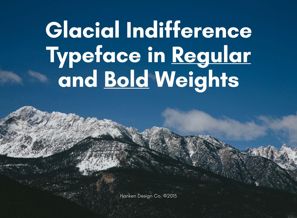 indiferencia glacial