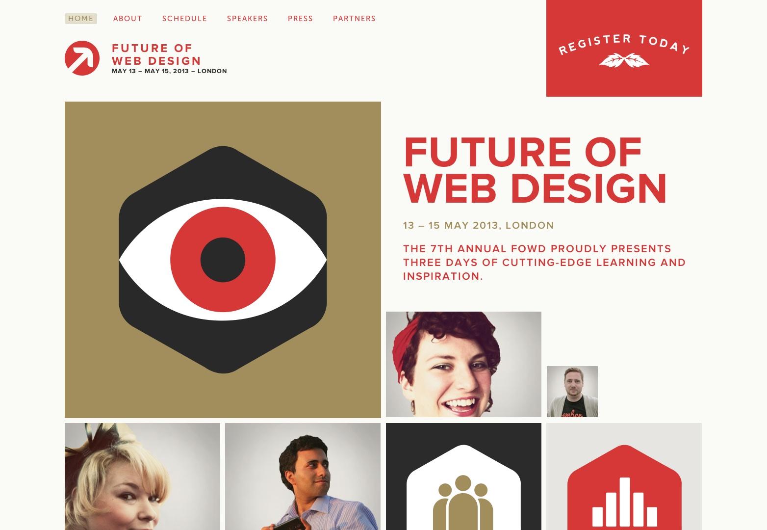 Web-suunnittelun tulevaisuus 2013